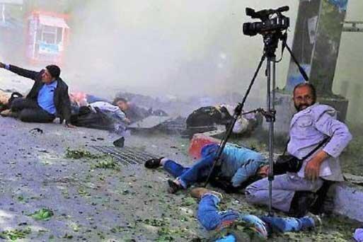 افغانستان خطرناک ترین کشور برای خبرنگاران