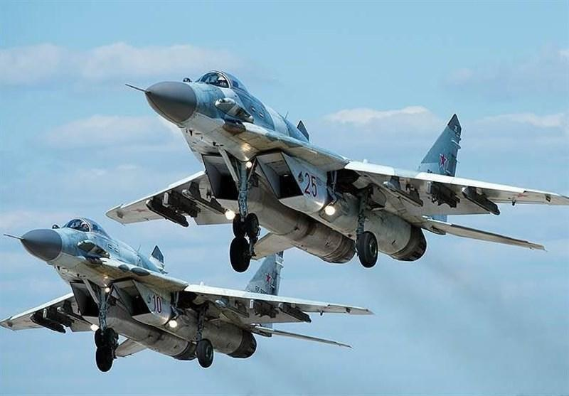 گشت زنی هوایی ارتش روسیه در شمال سوریه
