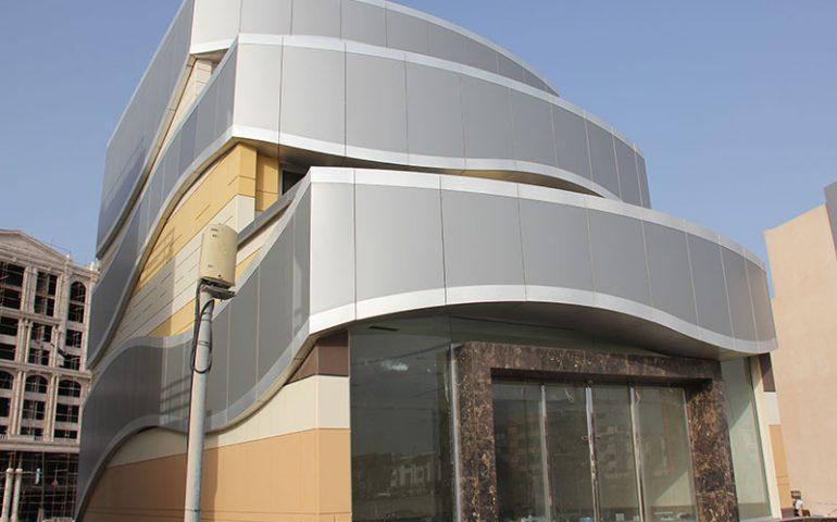 نماسازی ساختمان با پنل های کامپوزیت