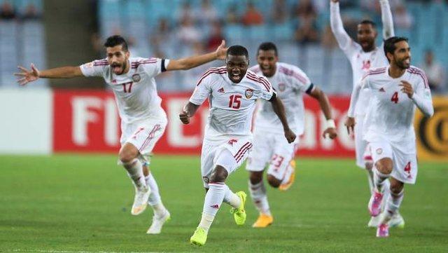 صعود پردردسر امارات به جمع هشت تیم نهایی جام ملت های آسیا