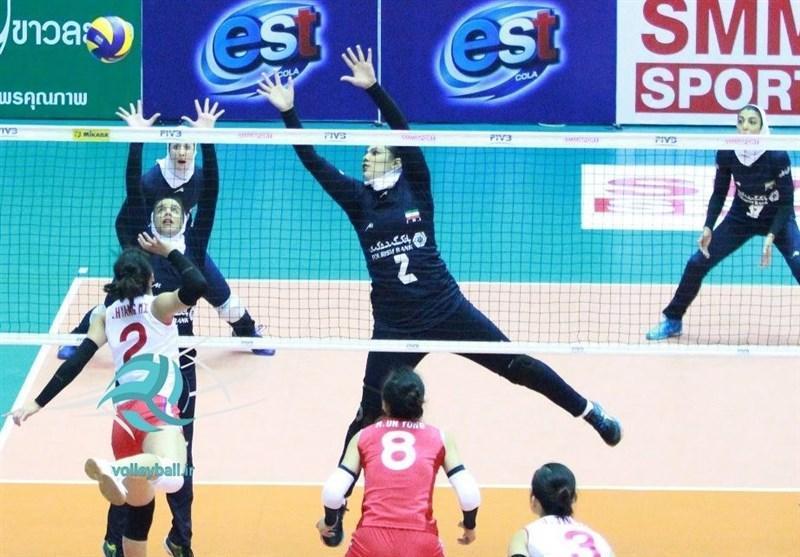 والیبال قهرمانی دختران نوجوان آسیا، پیروزی و صعود شاگردان شعبانیان