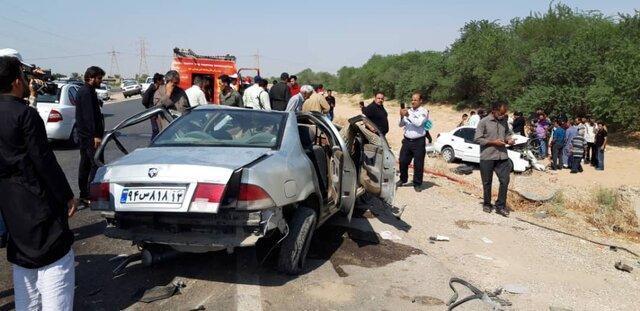 کشته شدن 800 نفر بر اثر تصادف در 8 ماهه گذشته