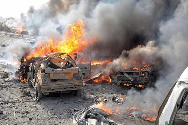 انفجار خودرو بمبگذاری شده در سوریه 15 کشته و زخمی برجای گذاشت