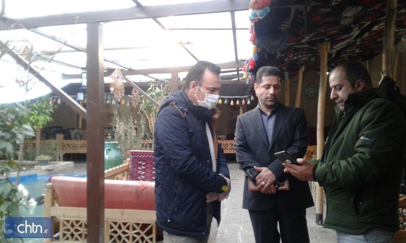 بازدید از سفره خانه های سنتی استان لرستان در راستای جلوگیری از شیوع ویروس کرونا