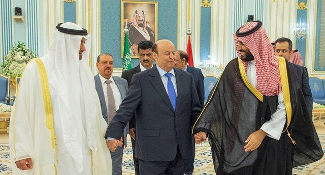 استقبال دولت مستعفی یمن از بیانیه عربستان درباره اجرای توافق ریاض