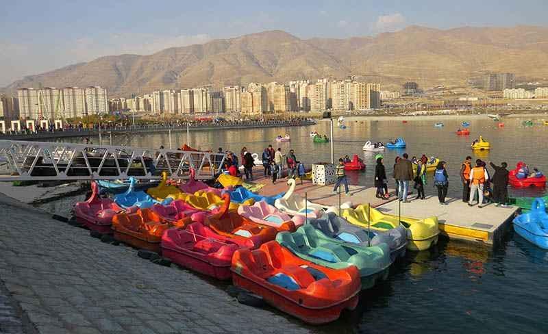 ماجرای فعالیت دریاچه و پیست دوچرخه سواری بوستان چیتگر در روز های کرونایی