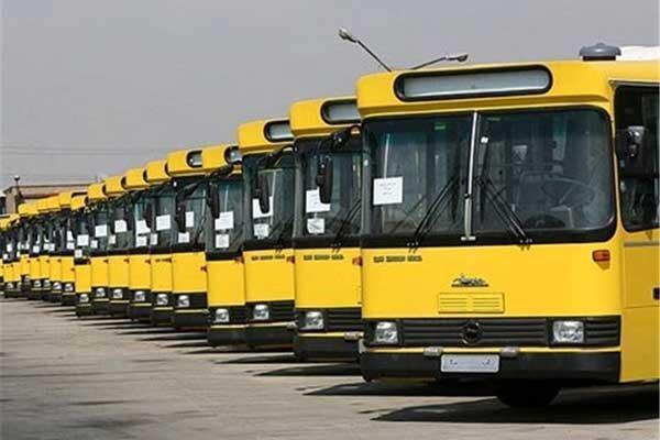 تعطیلی ناوگان اتوبوسرانی یزد تا 15 فروردین