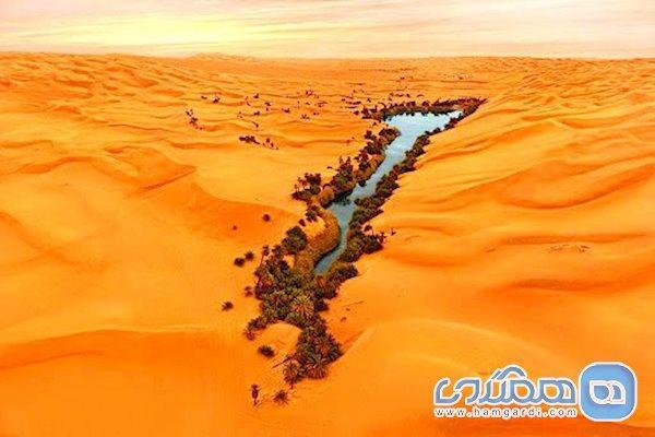 دریاچه اوباری لیبی، بهشت گمشده در میان کویری سوزان