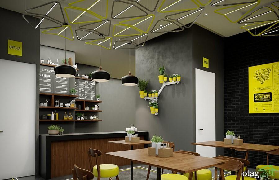 6 فاکتور موثر طراحی داخلی و دکوراسیون فست فود های مدرن