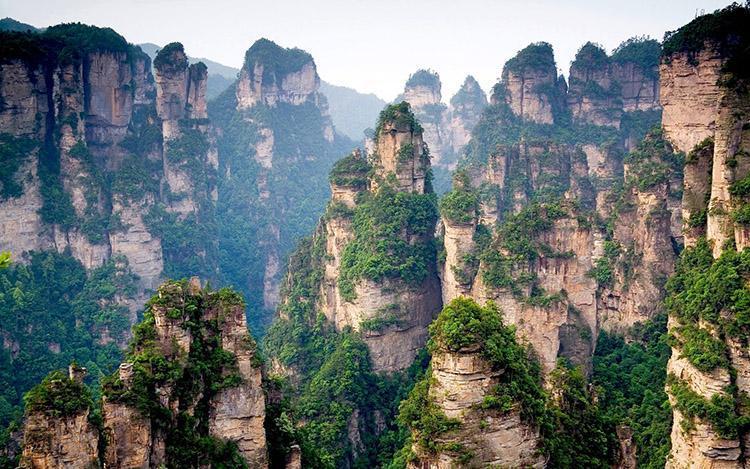 کوهستان تیان مِن ، قطعه ای از بهشت در چین china