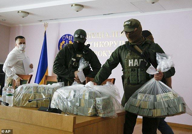 پیشنهاد 6 میلیون دلاری رشوه برای مختومه کردن پرونده شرکت اوکراینی