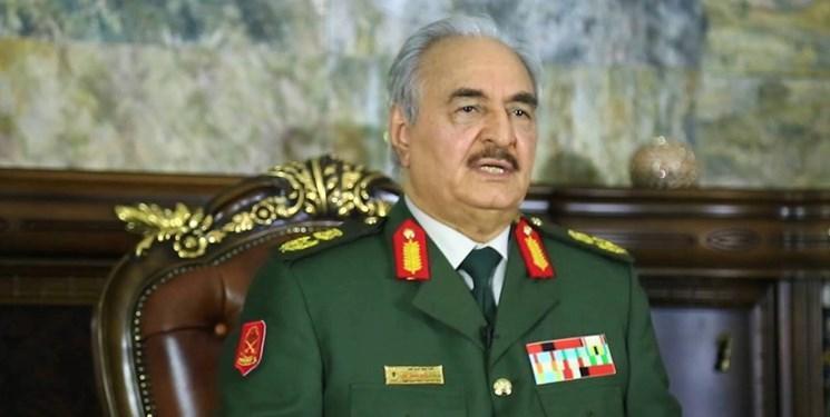 حفتر: ترکیه وحدت لیبی و ثبات منطقه را تهدید می نماید