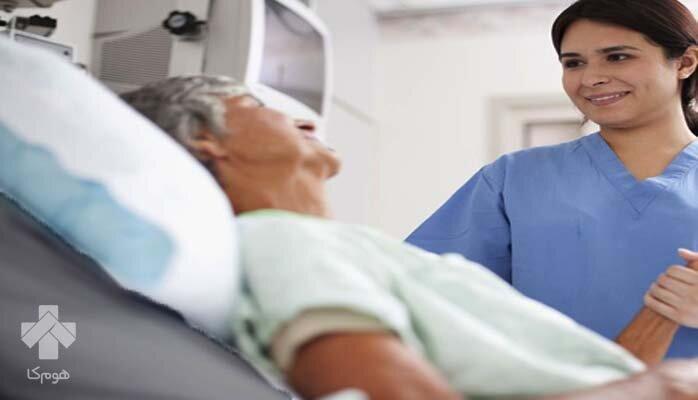 خدمات پرستاری از بیمار در منزل