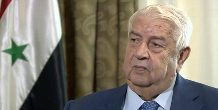 گفت وگوی تلفنی وزیر خارجه سوریه با همتای لبنانی