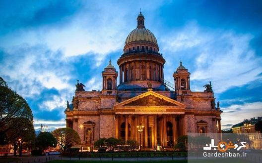 کلیسای جامع سنت ایزاک؛اصلی ترین و بزرگترین کلیسای جامع ارتدوکس روسیه