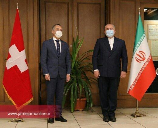 ظریف: قدردان کوشش های سوئیس برای سبک کردن خرابکاری های آمریکا هستیم