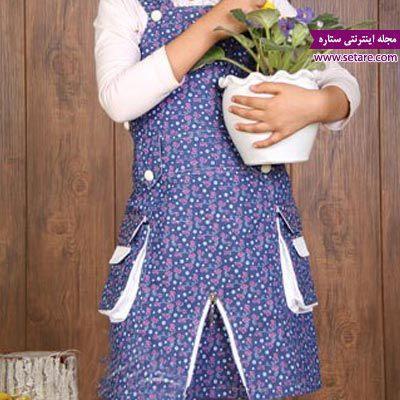 آموزش دوخت سارافون دخترانه جدید
