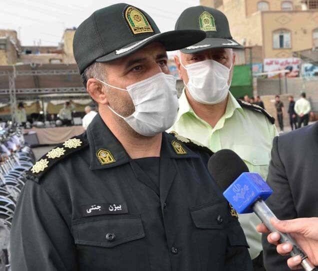 خبرنگاران کشف 105 فقره سرقت در فردیس