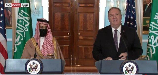 وزیر خارجه آمریکا: متعهد به مقابله با فعالیت های ایران هستیم