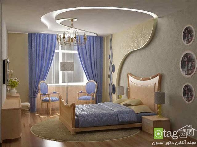نمونه تصاویر زیبا از جدیدترین مدل پرده اتاق خواب