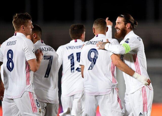 نخستین پیروزی رئال مادرید در شب جشنواره گل لیورپول و بایرن