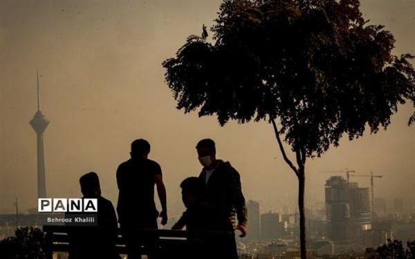 کیفیت هوای پایتخت نامطلوب است