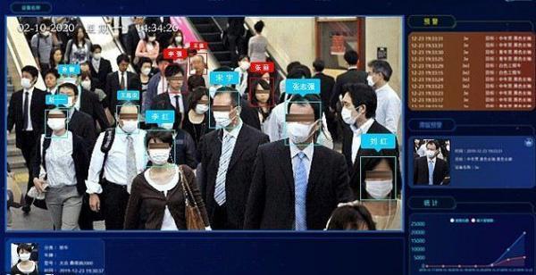 برنامه ای که افراد بدون ماسک را شناسایی می نماید