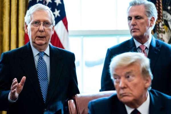 سران حزب جمهوریخواه در مراسم خداحافظی ترامپ شرکت نمی نمایند
