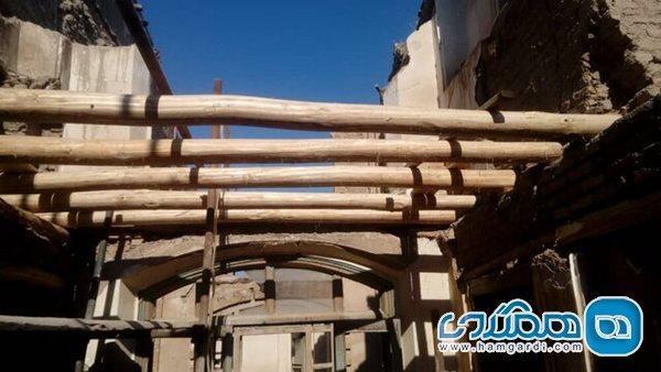 بازسازی خانه تاریخی کلکته چی با احیای دیوارها و سقف آجری