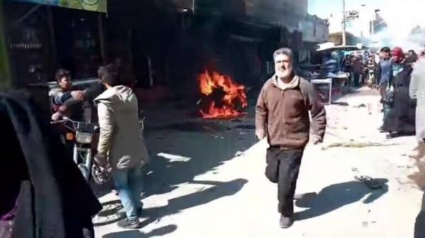خبرنگاران کشته شدن 3 غیر نظامی بر اثر انفجار در شرق سوریه