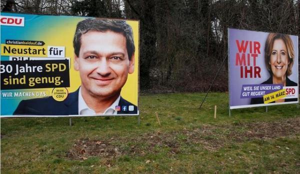 انتخابات منطقه ای امروز آلمان، آزمونی برای حزب مرکل