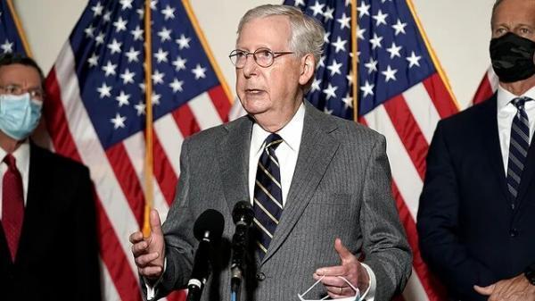 هشدار رهبر جمهوری خواهان آمریکا به شرکت ها: از سیاست دوری کنید!