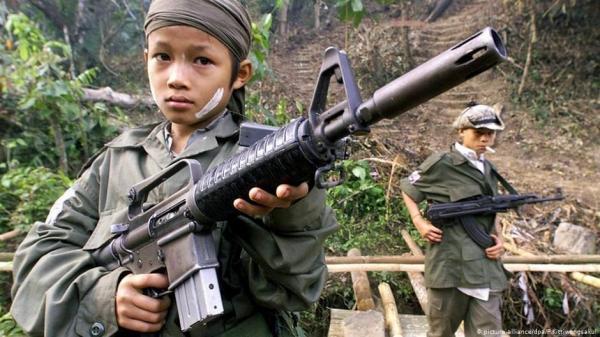 خبرنگاران هشدار یک سازمان حقوق بشری نسبت به افزایش جذب کودک سربازان در کلمبیا
