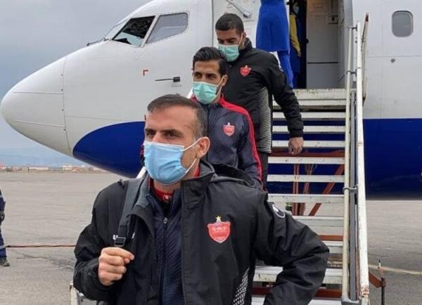 بازیکنان پرسپولیس را در تهران به قرنطینه بردند
