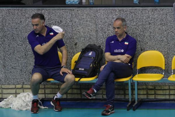 احتمال کاهش ملی پوشان والیبال به 16 نفر