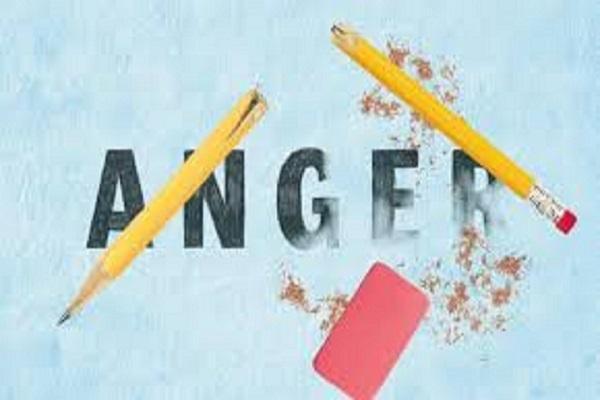 خشم در زندگی ممنوع