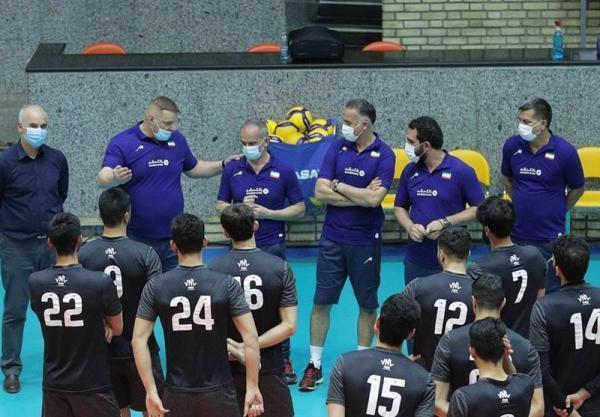 برای حضور در لیگ ملت ها؛ اعلام لیست 17 نفره تیم ملی والیبال از سوی آلکنو