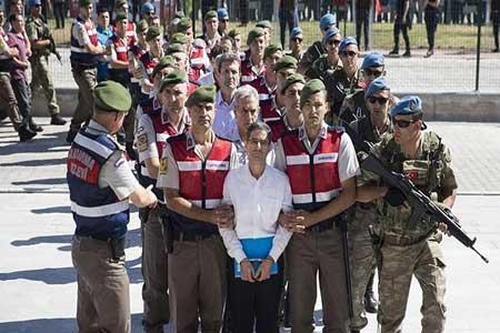 44 نفر به اتهام ارتباط با کودتای 2016 در ترکیه دستگیر شدند