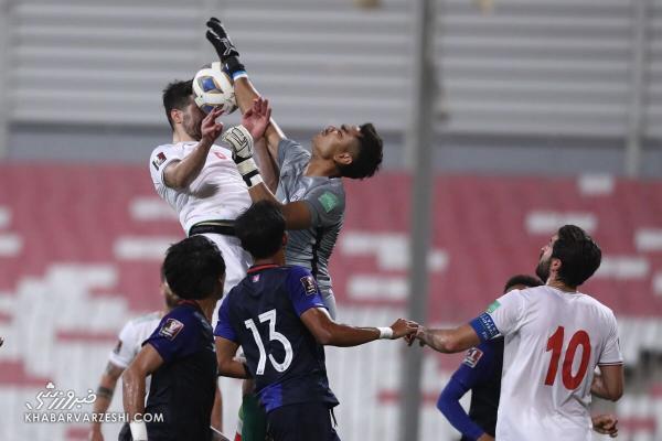گزارش ناراحت کننده روزنامه کامبوجی، بازیکنان ما مقابل ایران رنج کشیدند